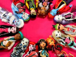 Monster High Circle by Super-Moogles