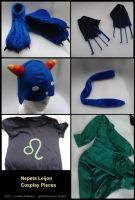 Nepeta Leijon Cosplay Pieces by dragaodepapel