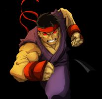evil ryu by Anny-D