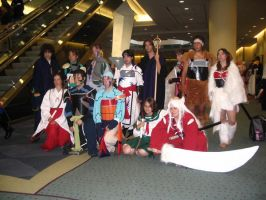 Inuyasha cosplay group 2006 by LaMisere