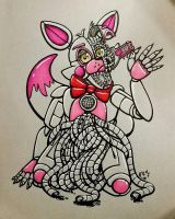 Sister Location: Funtime Foxy by ToastyLynx