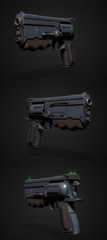 Classic Fallout 10mm pistol by Red888guns