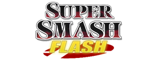Super Smash Flash Logo Remade by RaytheFox2012