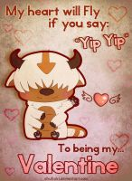 Yip yip Valentine by Morigalaxy