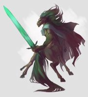 Ludwig the Holy Blade - Sketch by Versipeli