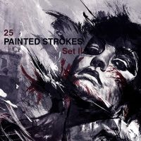 High-Res Paint Strokes: Set II by Raekre