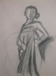 Five-Minute Figure Drawing by AnilaStar