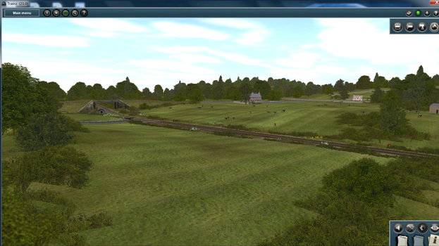 Countryside from the Other Railway by AtheMighty