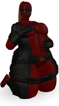 Lady Deadpool by TheCafeBaltic