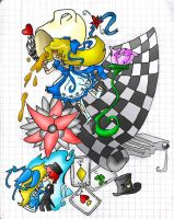 Alice in wonderland -robado- by Any1995