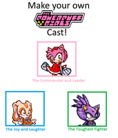 Sonic PPG Cast meme by BeeWinter55