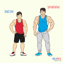 Meet the Swolemates by zephleit