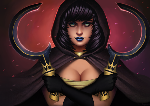 Commission: Egyptian Reaper by Irina-Isupova