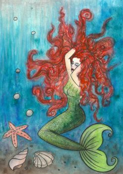 Mermaid by VictoriaThorpe