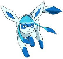Glaceon (Shiny) Pixel by Fishlover