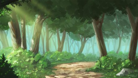 Forest Background by sendrawz
