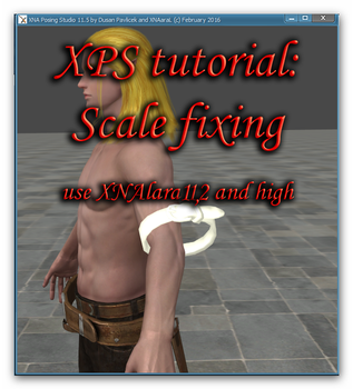 XPS Scaling fixing meshmod tutorial by Tokami-Fuko