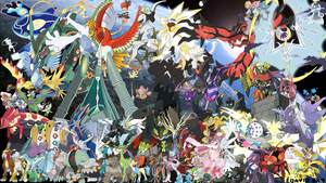 All Legendary Pokemon Version II