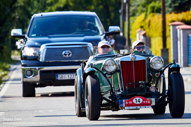 MG TC sport 1947 by pawelsky