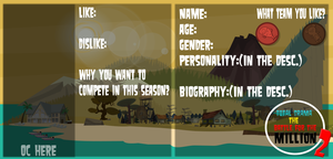 Total Drama The Battle For The Million S2 APP by crystalline-shadow