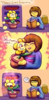 Flowey's (crazy) Imagination by SecretMaskedBurger
