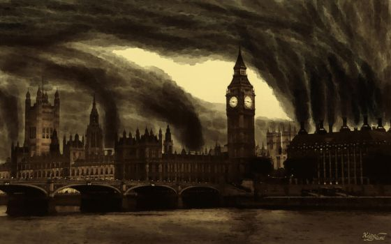 London's Steam Industry by HeliusFlame