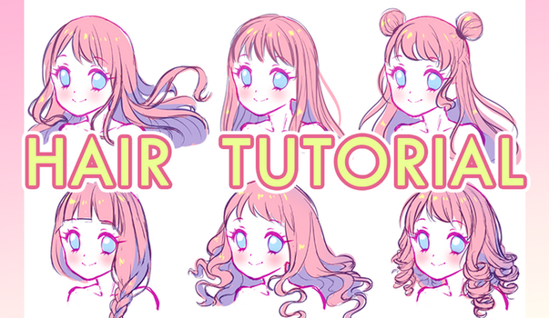 Hair Video Tutorial by Neko-Rina