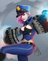 Officer Vi by Mauricio-Morali