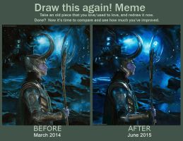 Draw This Again: Loki of Asgard by Quelchii