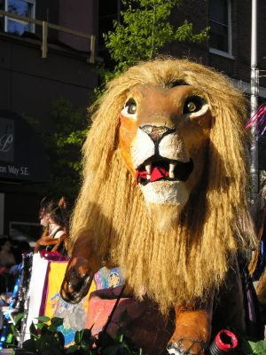 Procession 2004: Lion by Xandrabeast-stock