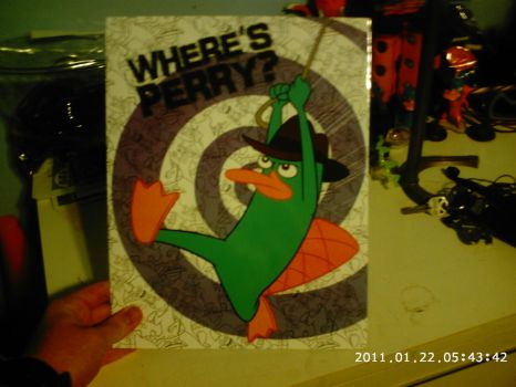 Perry the Platypus folder by Porygon2z