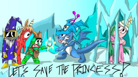Let's save the Princess by Plexee
