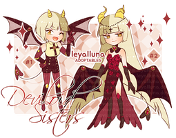 [CLOSED] Deviloid Sisters Set Price by leyalluna