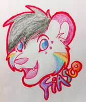 Badge: Fiasco by Kimmorz