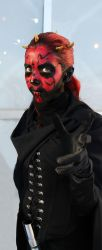 Darth Maul - II(rule 63) by FlorBcosplay