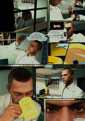 Involuntary Test Subject 001 (Page 1) by surody