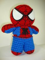 Arjeloops Spiderman Crochet Doll by Arjeloops