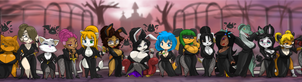 TOPPY'S 44 SEXY GHOULS OF THE NIGHT 44 by ShoNuff44