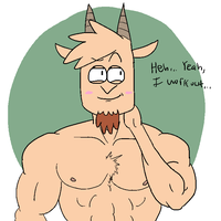 he's voiced by chris redfield so by Luigimanultra7