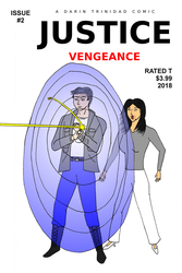 Justice: Vengeance #2 Alternate Comic Book Cover by DTrinidad