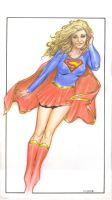 Supergirl by Reverie-drawingly