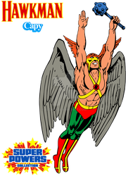 Super Powers - Hawkman by ElCapy