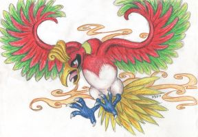 Draw me a pokemon ho-oh by sbslink