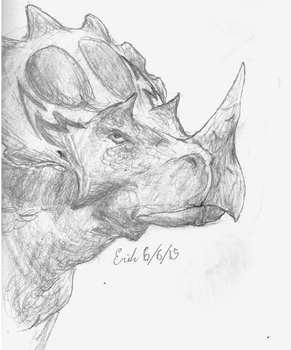 Regaliceratops peterhewsi by Velociraptor-King