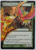 Birds of Paradise, Feat. Ho-oh (Pokemon Fan Art) by Toriy-Alters
