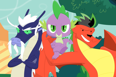 We dragons are super awesome by Porygon2z