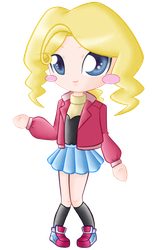 Cathy in Chibi.:Colored:. by pokediged
