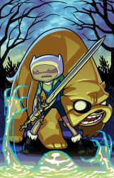 Adventure Time by JJKirby