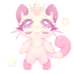 F2U MEOWTH PIXEL [ Credit me ] by hamufuu