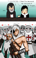 Templars weak point by Hikari-15-L